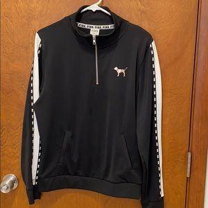 Victoria secret pink track jacket size large